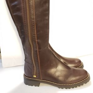 Michael kors 7.5 boots brown leather
